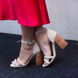 Sol Sana xavier platform heels sandals size 38